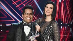 Luis Adrián y Laura Pausini cantan juntos en La Voz... México