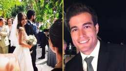 Danilo Carrera recuerda cuando fue uno de los invitados a la boda de Michelle Renaud y ni regalo llevó