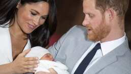 El príncipe Harry y Meghan Markle presentan a su hijo
