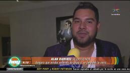 ¡Alan Ramírez se defiende tras polémica!