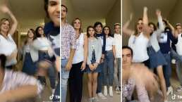 Erika Buenfil se avienta divertido bailecito con elenco de 'Vencer el Pasado'