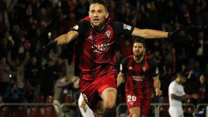 Mirandés goleó a Sevilla y es el único representante de la Segunda División. | Llegan a la siguiente ronda tras golear 3-1 a Sevilla con doblete de Barrozo Rodrigues.