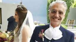 Así fue como Alejandro Fernández le cantó a su hija Camila en su boda