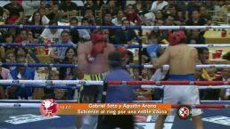 Gabriel Soto y Agustín Arana suben al ring