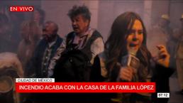 Una familia de Diez: Se incendia la casa de los López