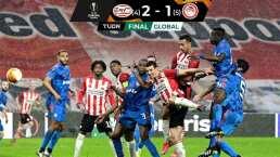 PSV es eliminado sobre la hora de la Europa League