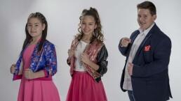 """Eduardo Barba, Paoly Flores y Karla Cerón cantaron """"Tan sólo tú"""""""