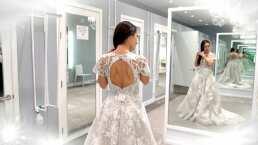 Antes de su boda este sábado, te mostramos la prueba del vestido de novia de Wendy Braga