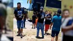 Seguidores de Monterrey reportan maltrato de autoridades en San Luis
