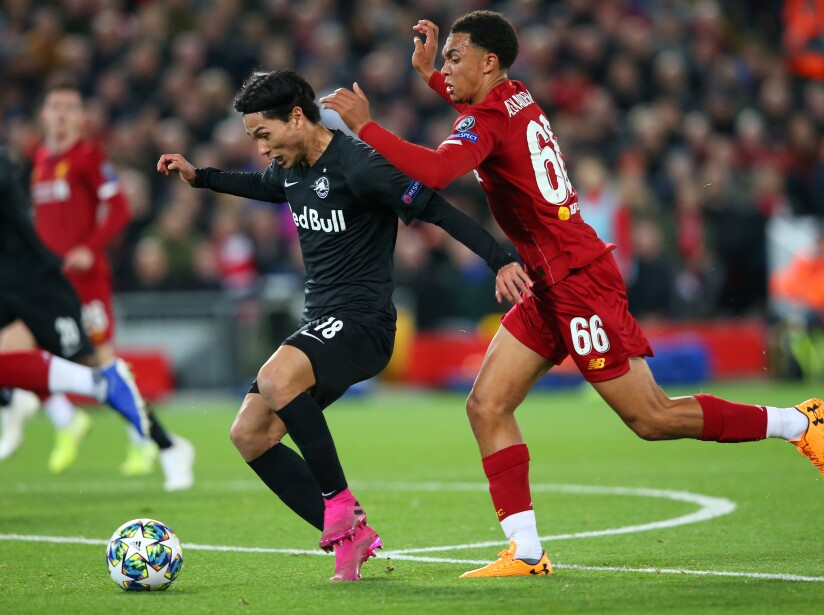 Liverpool FC v RB Salzburg: Group E - UEFA Champions League