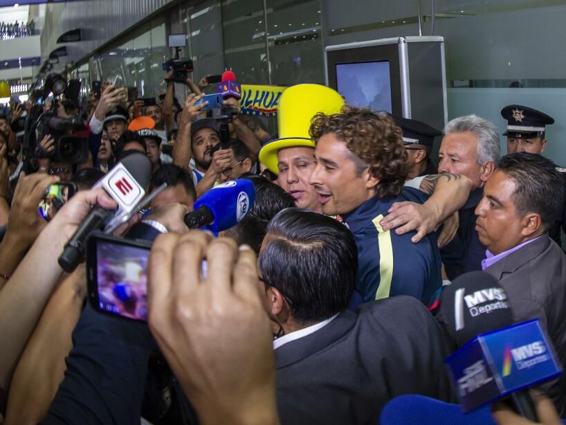 Arribo de Ochoa a México