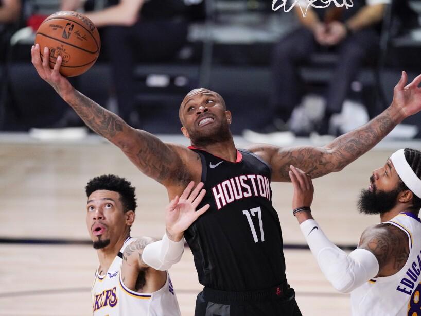 APTOPIX Lakers Rockets Basketball