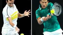 ¡A la final! Medvedev derrota a Tsitsipas y va por el Australian Open