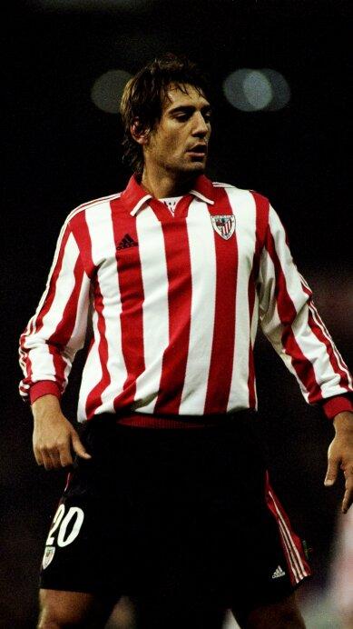 Ismael Urzaiz of Athletic Bilbao