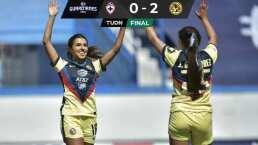 ¡Despegue perfecto! América derrota a Cruz Azul en J1 de Liga MX Femenil