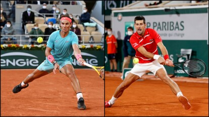 Djokovic y Nadal van por la final de Roland Garros | Será la tercera vez que se enfrenten en el último partido del Abierto de Francia; Nadal va por su título 13 de Roland Garros.
