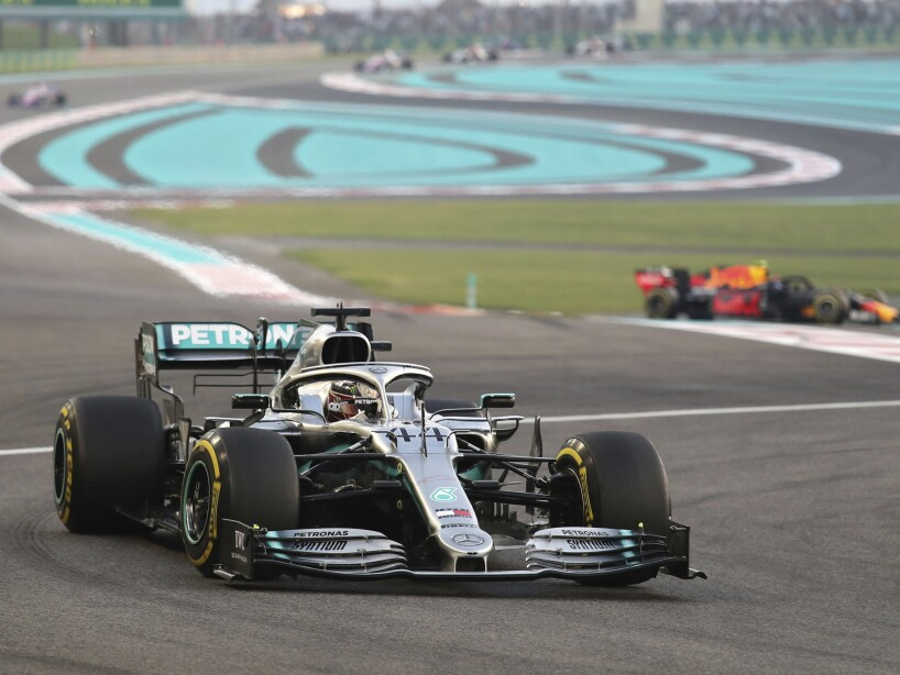 Emirates F1 GP Auto Racing