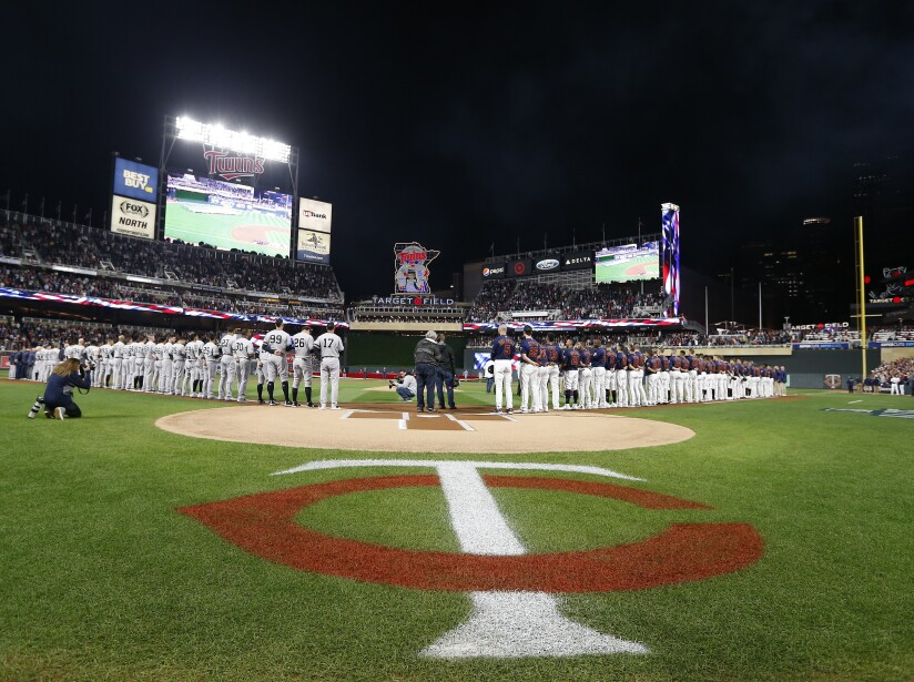 Divisional Series - New York Yankees v Minnesota Twins - Game Three
