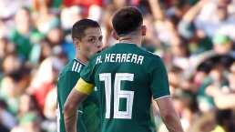 Héctor Herrera no sabía de fichaje del Chicharito con LA Galaxy