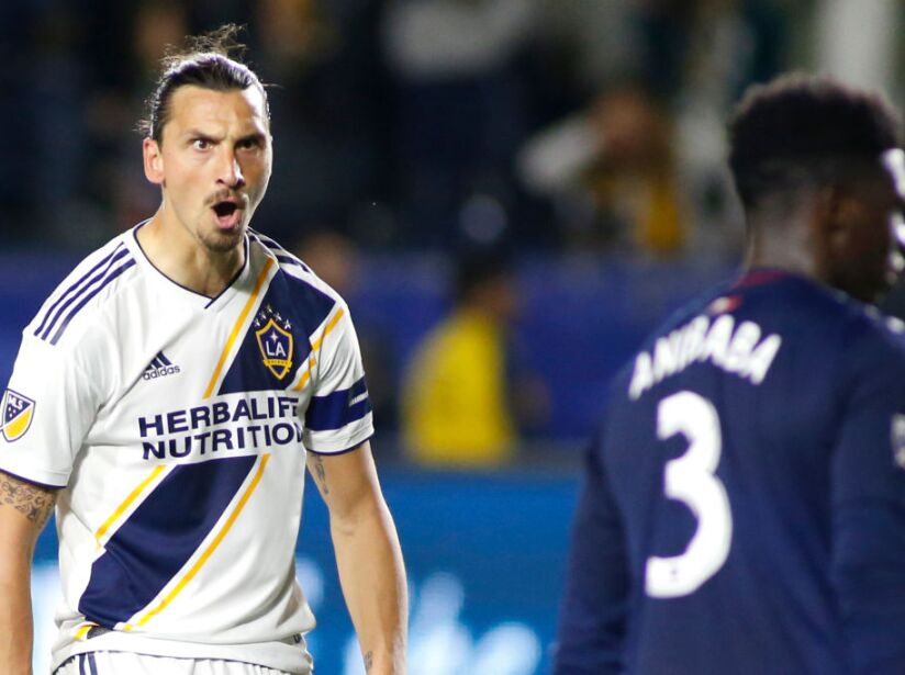 New England Revolution v Los Angeles Galaxy