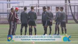 La Selección Mexicana alista partido ante Ecuador