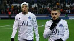 Marco Verratti se suma a Kylian Mbappé como baja del PSG