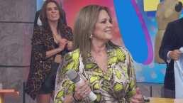 Erika Buenfil revive sus días como cantante con inesperada interpretación junto a Galilea Montijo