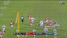 Raiders anotan el touchdown de consolación y les bloquean la patada