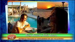 ¿Diego Boneta y Sofía Castro estrenan romance?