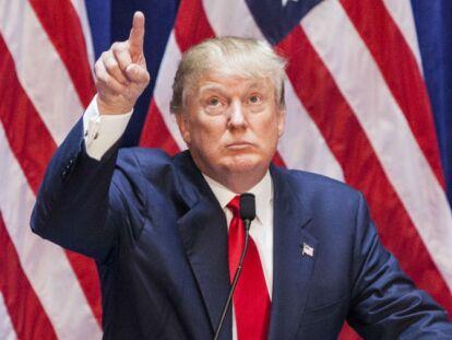 4. Donald Trump: L'empresari no va veure amb bons ulls la primera actuació de la cantant en el Super Bowl.