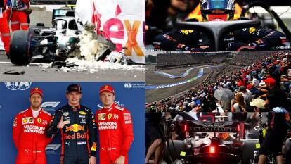 Max Verstappen saldará el domigo en la primera posición y por detrás vendrá Ferrari con Leclerc en la segunda posición y Vettel en la tercera.