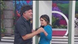 Arath de la Torre y Andrea Escalona tienen divertido enfrentamiento de telenovela que termina en coqueteo