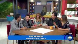 """Juan José Origel y Martha Figueroa estrenan """"Con Permiso"""""""