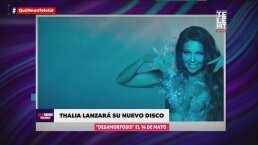 Thalía lanzará nuevo disco el 14 de mayo