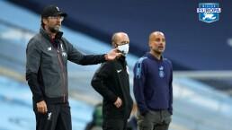 Jürgen Klopp y Pep Guardiola se llenan de elogios