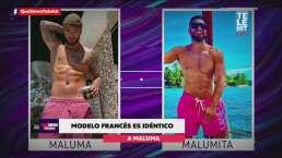 Modelo francés es idéntico a Maluma y hasta lo confunden con el cantante