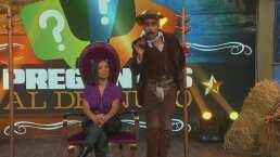 La vocalista de Playa Limbo jugó 'Preguntas al Desnudo' con el Tunco Maclovich