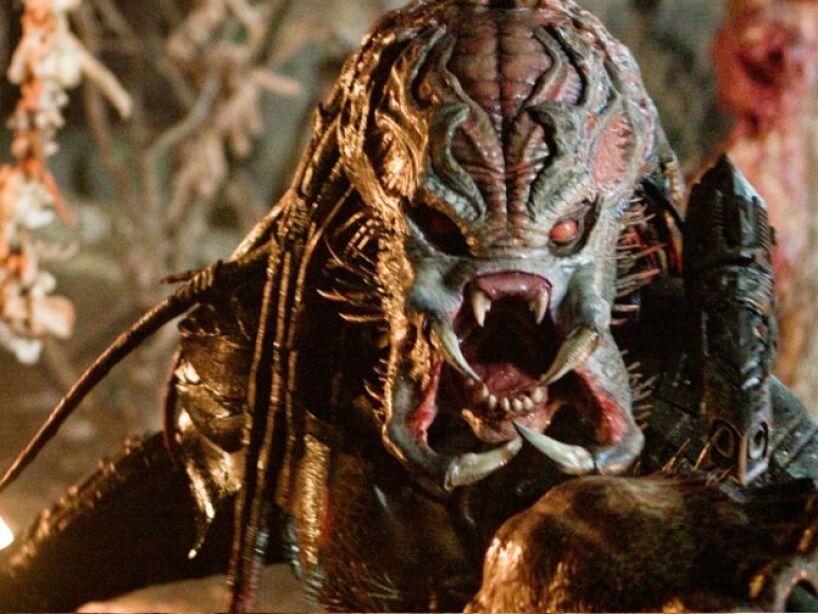 Depredador: Este cuate interplanetario tiene muy mal carácter. Su debut en el cine fue en 1987, en la película que lleva su nombre Predator.
