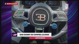 Bad Bunny se compra un lujoso automóvil que parece de una película de 'Rápidos y Furiosos'