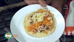 Cocina Tacos de pulpo asados al comal