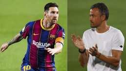 Luis Enrique asegura que Messi es el mejor del mundo