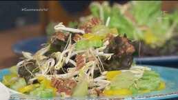 RECETA: Ensalada de uvas con germen de soya