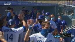 Dodgers muestran su poder y dan la vuelta para vencer 6-2 a los Giants