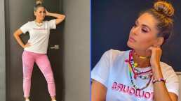 Porque siempre fashion nunca infashion, Galilea Montijo presume su look más juvenil