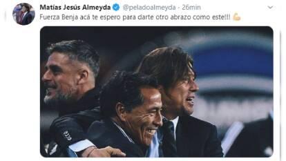 Así reaccionó el mundo del futbol ante la reciente hospitalización de 'El Maestro', Benjamín Galindo.