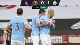 Kyle Walker metió un golazo y el City vence a Sheffield United