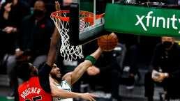 Los Celtics se armaron de triples para batir a los Raptors