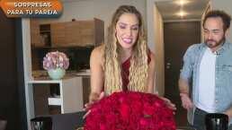 Andrea Escalona se pone romántica en su departamento: 'Si quiero invitar al galán ¿cómo lo puedo poner feliz?'