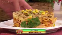 RECETA: ¡Cocina ricos macarrones con salami!