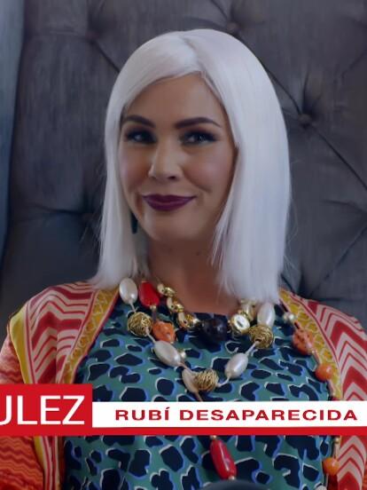 En el desenlace de 'Rubí', pudimos ver a la querida Queca Gallardo dando la nota sobre la misteriosa desaparición de 'Rubí Pérez'.